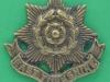 KK 609. East Yorkshire war casting badge. Lugs 40x38 mm.