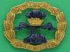 KK 2001. South Lancashire Regiment. Officers beret badge, plated gaunt. Lugs 39x31 mm.