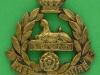 KK 637. East Lancashire Regiment 1898-1902. Victorian Crown. Lugs cast 38x41 mm.