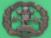 KK 652. South Lancashire Regiment, all brass cap badge 1916. Lugs 53x43 mm.