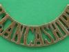 RW1027. East Lancashire Regiment shoulder title. 54x11 mm.