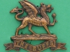 CW136, The Buffs, officers collar badge, Luski & Son, London, 42 x 35mm (1)