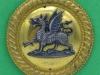 KK 591. The Buffs Royal East Kent Regiment cloak chain clasps badge. 36 mm.
