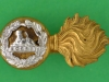 CW182. The Lancashire Fusiliers, officers gilt & silver collar badge, 36x18 mm.