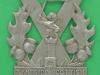 KK 1137. The 20th, 21st, 22nd, 23rd, & 29th Battalions Tyneside Scottish Northumberland Fusiliers. Løven har begge ben på tårnet 1915. 52x57 mm.