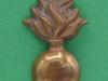 CW181. The Lancashire Fusiliers collar badge