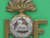 RW933. Lancashire Fusiliers, shoulder title. Lugs 30x35 mm.