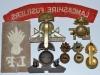 The Lancashire Fusiliers badges reverse.
