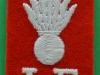 The Lancashire Fusiliers shoulder patch title. WW2 issue. 40x70 mm (1)