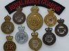 Horse Guards and Household Cavalry badges.