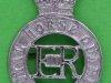 KK 1878. The Royal Horse Guards (the Blues), chromed, schrews 27x39 mm.
