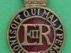 KK 1884. Household Cavalry officers cap badge. Lugs 27x42 mm.