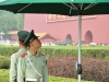 Vagter ved Maos Museum på Den Himmelske Freds Plads