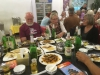 Søndag aften den 11/9 på restaurant i Beijing hvor der blev serveret traditionel kinesisk mad der bare smagte fortræffeligt.
