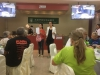 Velkomst og introduktion på Kokkeskolen af vores guide og en person fra skolen