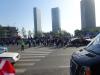 Der var et kæmpe opbud af politi der passede på os, flere hundrede, hvis ikke tusinde langs hele ruten. Dog kun på førstedagen.