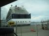 Ankomst til vores skib Celedrity Infinity