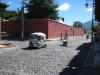 Forskellige taxi og transportmidler i Antigua