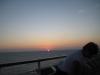 Solnedgang på skibet den 3 nov