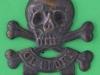 KK 782a, Cox 1264. 17th Lancers, Sergeants arm badge. Lugs 47x51 mm.