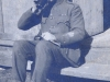 Soldier from 17th Lancers drinking coffee