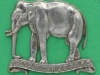 KK 789. 19th Queen Alexandras Own Royal Hussars. Lugs 50x43 mm.