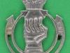 CW51. Royal Armoured Corps. Collar badge post 1941, 25x32 mm.