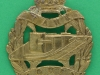 KK1156. Tank Corps. Genuine but the crown has been cut of and replaced. Slider 40x50 mm.