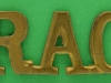 RW200. Royal Armoured Corps shoulder title 1944. 41x18 mm.