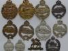 Royal Tank Corps cap and collar badges etc.