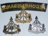 The Reconnaissance Corps cap and shoulder title reverse.