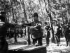7 GR  A Japanese Officer hands over his katana sword