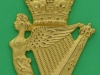 JR plate 27, Ulster Defence Regiment 1970-1992, piper badge. Three lugs 52x78 mm.