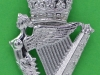 KK 2403. The Ulster Defence Regiment 1970-1992. Chromed, slide 30x46 mm.