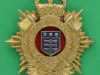 RH247. The Royal Logistic Corps1993. Officers cap badge. TKS long lugs. 40x44 mm.