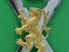 The Royal Regiment of Scotland 2005. 3 parts badge. Six lugs 42x64 mm.