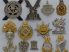 Infantry Brigades 1958, officers cap badges.