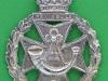 KK 2037. The Green Jackets Brigade. Officers silver cap badge. Long lugs 34x45 mm.