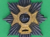 KK 2048. Worcestershire and Sherwood Foresters Regiment 1970-2007, officers, gilt and silv, lugs 36x52 mm.