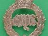 KK 1886. The Queen`s Bays (2nd Dragoon Guards) Slide Gaunt 38x42 mm.