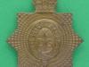 KK 735. 1st King`s Dragoon Guards. brass slide 39x46 mm.