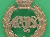 KK 736. 2nd Dragoon Guards The Queens Bays, victorian crown. 38x46 mm.