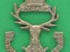 Gordon Highlanders sporran badge. cast, 26x38 mm.