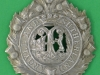 KK 698. Argyll and Sutherland Highlanders. Middlelong lugs voided centre curved60x78 mm. 61x80 mm.