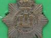 CW156. The Devonshire Regiment. Queen Victoria crown collar badge. 24x26 mm.