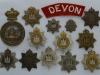 The Devonshire Regiment badges