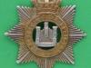 KK 601. The Devonshire Regiment. Victorian, lugs replaced with braceholes. 41x42 mm.