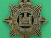 KK 602. The Devonshire Regiment. All brass economy 1916 badge. 41x43 mm.