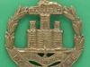 KK 651. Dorsetshire Regiment. All brass 1916 ww1 badge. Slide 41x45 mm.