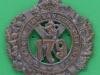 BLO437 The 79th Cameron Highlanders of Canada 1910-1920 cap badge 51 x 57mm
